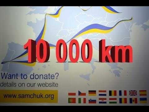 10 000 km - UKRAINIANS IN EUROPE CHARITY CYCLE RIDE / благодійний велопробіг УКРАЇНЦІ В ЄВРОПІ