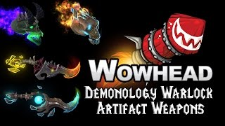 Demonology Warlock Artifact Weapons - Skull of the Man'ari & Spine of Thal'kiel