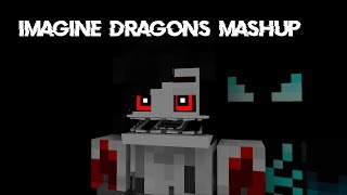 Minecraft FNaF Animation Imagine Dragons Mashup Song Create By TheSamTsui