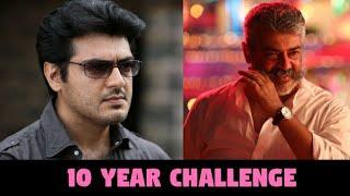 10 years challenge Celebrities