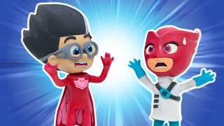 Play Doh Videos | Wrong Heads Superheroes 🦸 PJ Masks | Play-Doh Show Season 2 | Play-Doh Official
