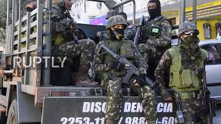 Brazil: At least 14 killed in military crackdown on Rio de Janeiro drug gangs