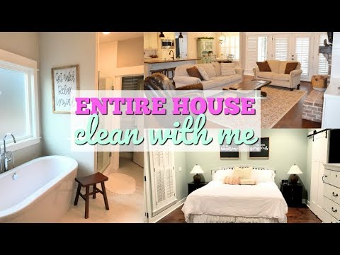ULTIMATE CLEAN WITH ME   ENTIRE HOUSE   SPEED CLEAN