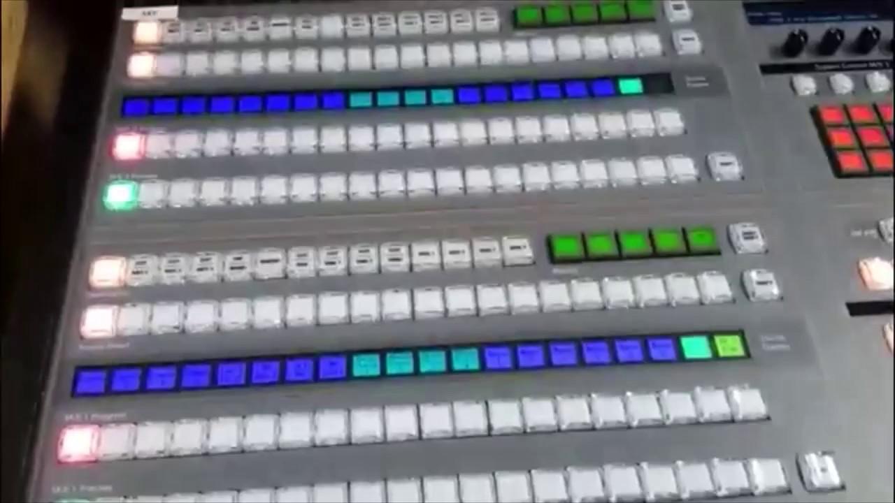Blackmagic Design Atem 2 Broadcast Control Panel 2 Dsk Youtube