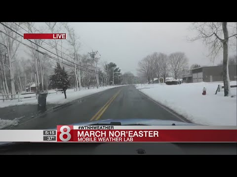 Mobile Weather Lab: Road conditions in Niantic