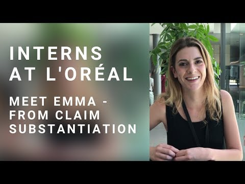 Meet Emma - Intern, R&I