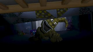 Hide under the bed easter egg?! (FNAF4)