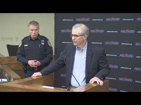 Abilene High Stabbing Press Conference