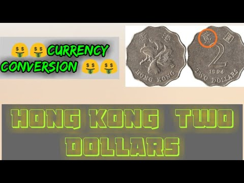 HONG KONG TWO DOLLARS COIN | Hong Kong Dollar | Currency Conversion