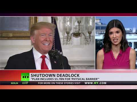 Trump offers compromise to end govt shutdown, Democrats say 'no'