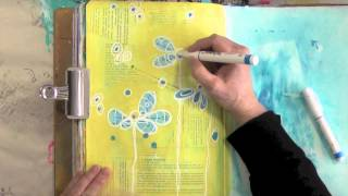 doodling dots