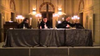 Lesung und Gespräch mit Derek Landy und Rainer Strecker