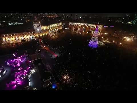 Площадь Еревана 2020 год