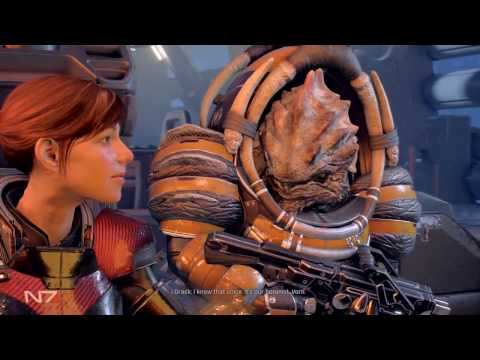 Mass Effect Andromeda PS4 First Playthru Drack Loyalty/ All Memories found