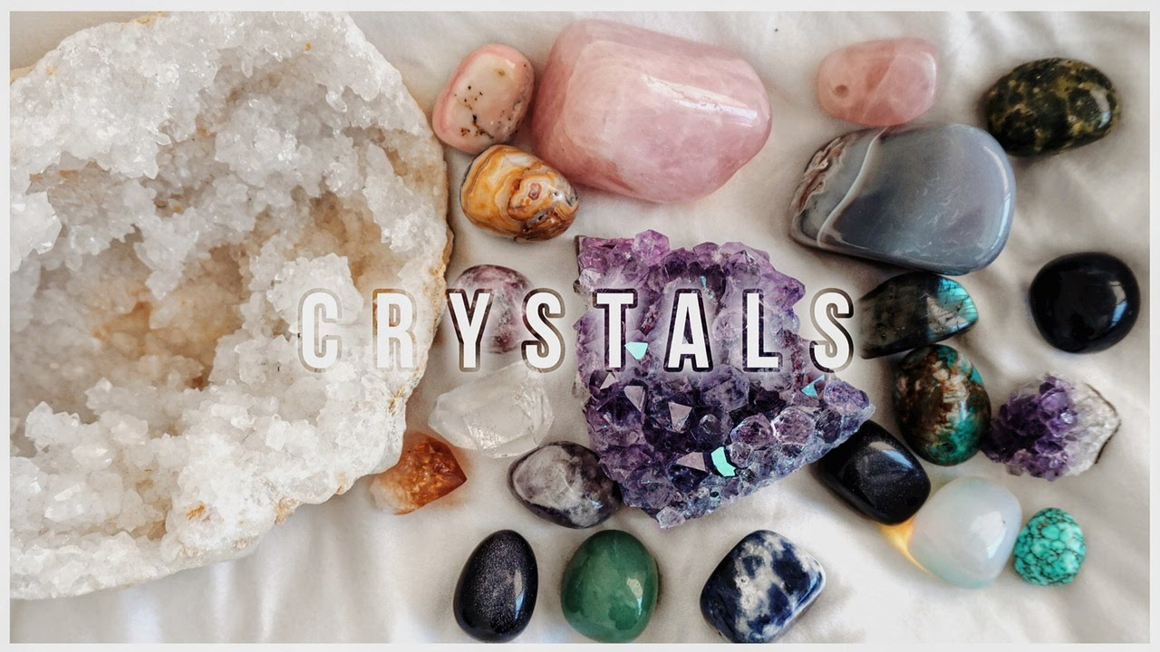 crystals how they work crystal meanings youtube