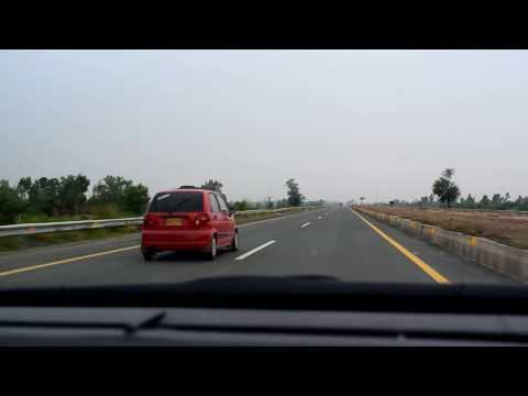|Driving in Pakistan|M-2 & M-3 Motorway Drive |PK| -Rainy Day-