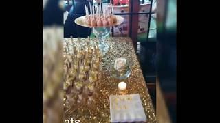Dessert Table Bridal Shower #FAOSEVENTS #DESPEDIDADESOLTERA #MESADEPOSTRE