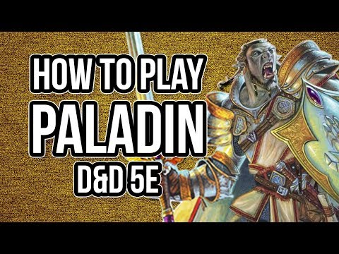 HOW TO PLAY PALADIN