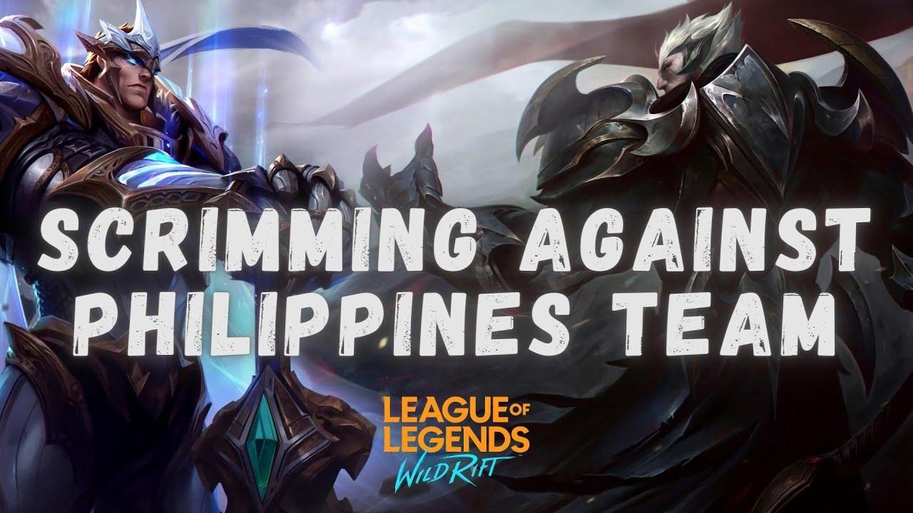 WILD RIFT LIVE | SCRIMS AGAINST PHILIPPINES TEAM | COME SUPPORT US