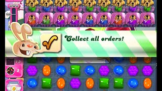 Candy Crush Saga Level 1088 walkthrough (no boosters)