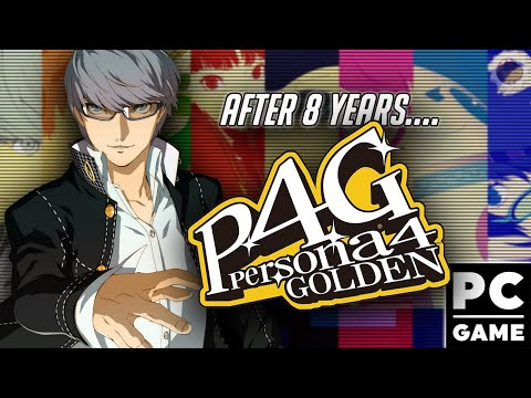 I waited so long for THIS GAME!!! | Persona 4 Golden |