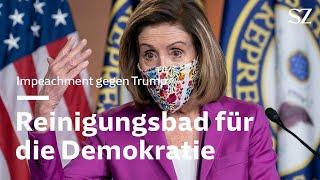 Impeachment gegen Trump: Reinigungsbad für die Demokratie
