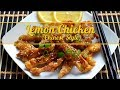 Lemon Chicken Recipe- Chinese Style