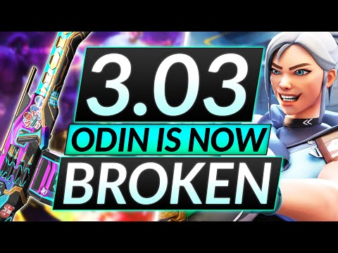 NEW 3.03 PATCH - THERE'S NO HOPE ANYMORE - ODIN META - Valorant Guide