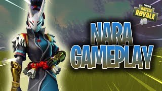 Fortnite Battle Royale n=NEW NARA SKIN//GAMEPLAY
