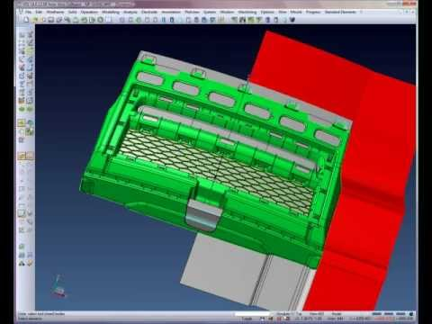 Automotive Core & Cavity creation - Step 6
