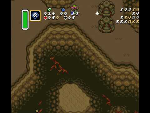 Zelda: LttP - Hookshot Cave (Needs only boots and bunny revival/pearl)
