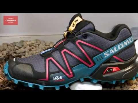 4f678dcf0f87 Salomon Speedcross 3 Running Shoe (Women s) - Cotswold Outdoor product  video - YouTube