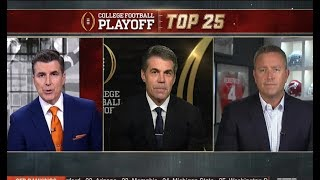 College Football Playoff: Top 25 (October 31, 2017) HD