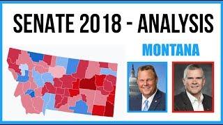 Montana 2018 Senate Results - Analysis + Discussion