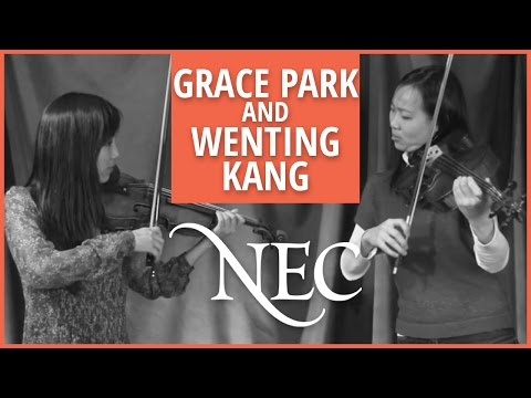 Grace Park and Wenting Kang talk about Mozart