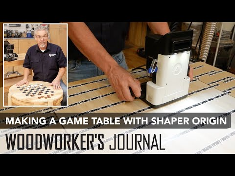 Making a Game Table with the Shaper Origin Router