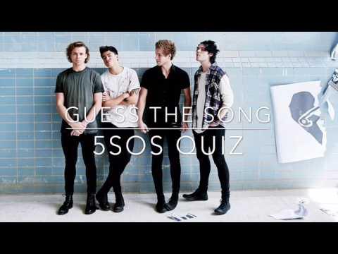 5sos Song Quiz (HARD)