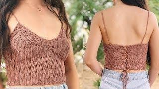 How to Crochet a Tank Top — DIY Crochet Top