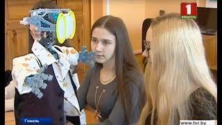 В Гомеле робот-учитель ведёт урок английского языка