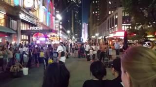 紐約時代廣埸街頭藝人秀