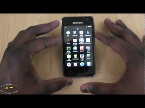Samsung Galaxy Player 3.6 Unboxing