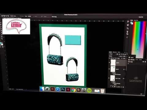 Moda Tasarım - Adobe Photoshop'ta Çanta Tasarımı I