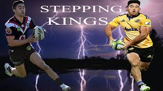 "Nehe Milner Skudder & Shaun Johnson ""Stepping kings""  best sidesteps"