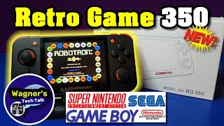 Retro Game 350(RG350): Unbox, Gameplay & Review of FBA, PS1, RG 350 MAME(ARCADE), NES, GB, SNES+more