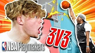 Can T Jass' Layups beat Staples' Dunks? | 3v3 Basketball