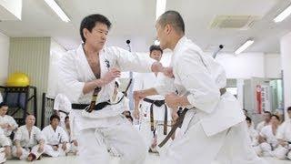 2012年3月4日に行われた内藤隆富による昇段組手です.