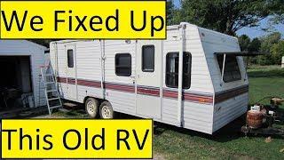 Older RV Remodel Results Finally!