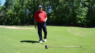 Bradley Hughes Golf- The 4:30 Swing Plane & Clubface Control For Straighter Shots
