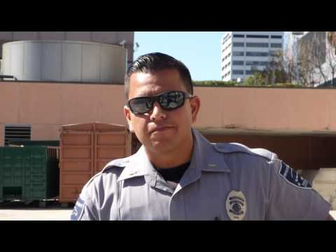 1st Amend Audit ft. Calif Guardian: Downtown L.A. Federal Corr. Complex. Nice guard questions us