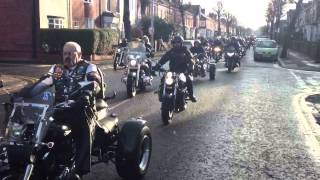 500 bikers say farewell to Fergus O'Connell in Grimsby